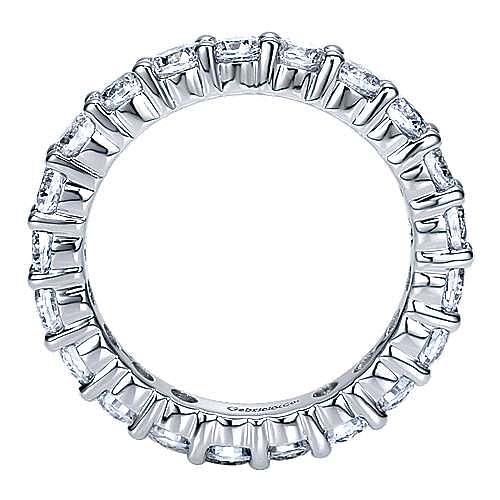 14K White Gold Prong Set Diamond Eternity Band
