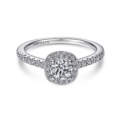 High Quality Round Diamond Engagement Ring Wedding Band Fashion Jewellery Surrey Langley Canada