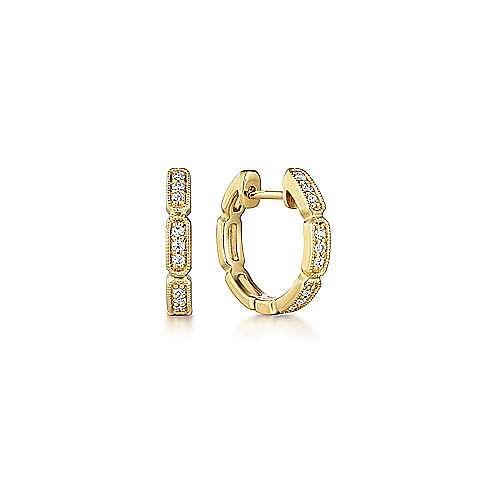 14K Y.Gold 10MM Dia EG