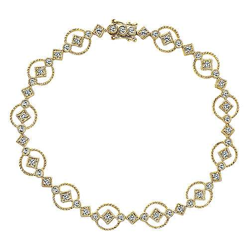 Gabriel - 14K Yellow Gold  Fashion Bracelet