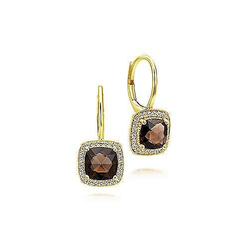 Gabriel - 14K Yellow Gold  Fashion Earrings