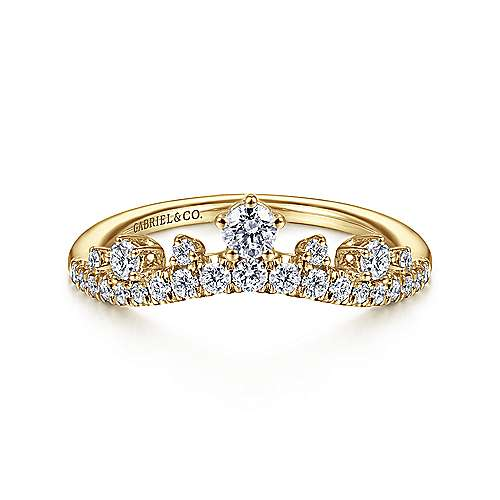 14K Yellow Gold Anniversary Band