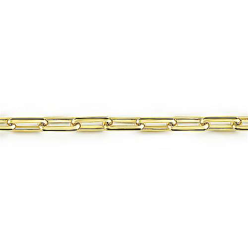 14K Yellow Gold Chain Bracelet