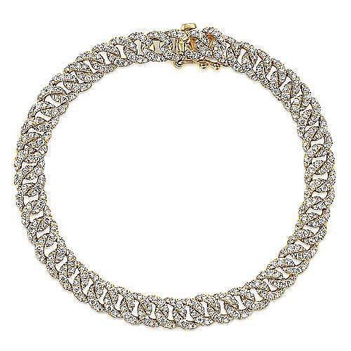 Gabriel - 14K Yellow Gold Fashion Bracelet
