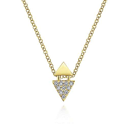 14K Yellow Gold Fashion Necklace