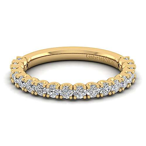Gabriel - 14K Yellow Gold Matching Wedding Band