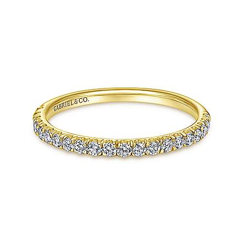 14K Yellow Gold Matching Wedding Band