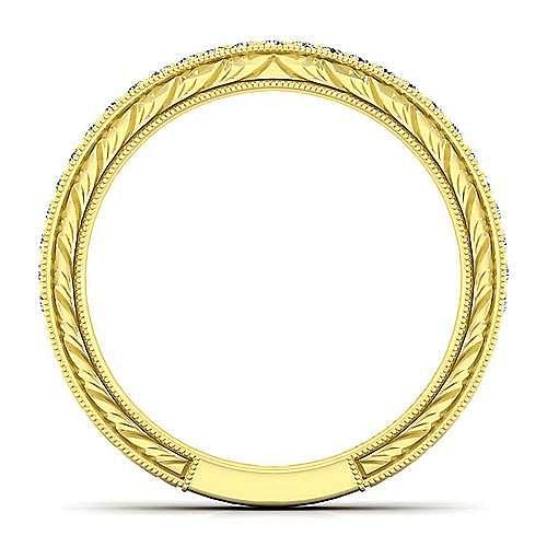 14K Yellow Gold Matching Wedding Band