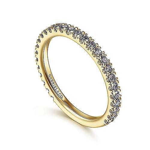 14K Yellow Gold S.Alexandrite Fashion Ring