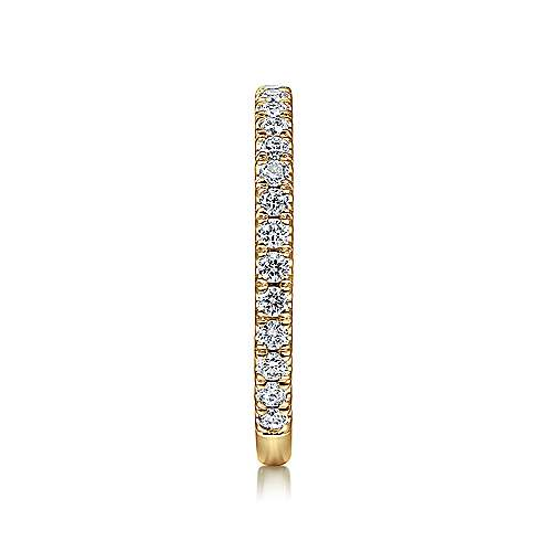 14K Yellow Gold Stackable Diamond Ring
