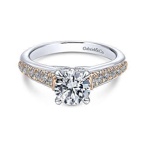 Gabriel - 14KGold Diamond Eng.Ring