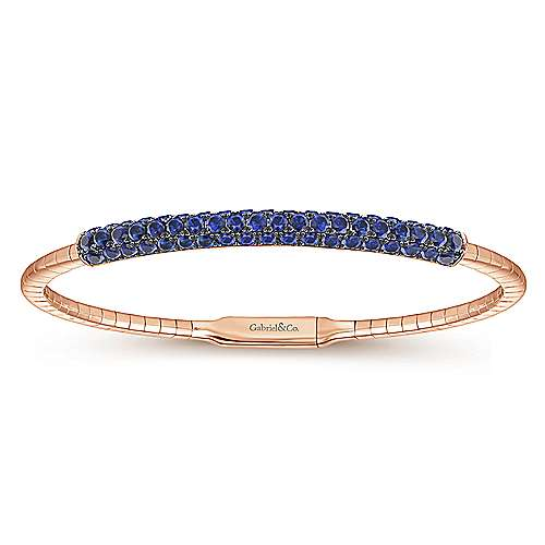 Gabriel - 14k Rose Gold Bangle