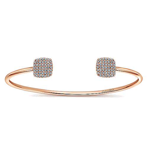 14k Rose Gold Byblos Bangle angle 1