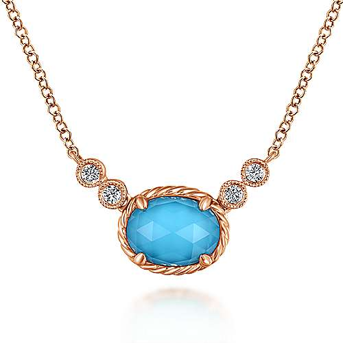 Gabriel - 14k Rose Gold Hampton Fashion Necklace