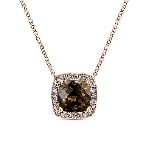 14k Rose Gold Lusso Color Fashion Necklace