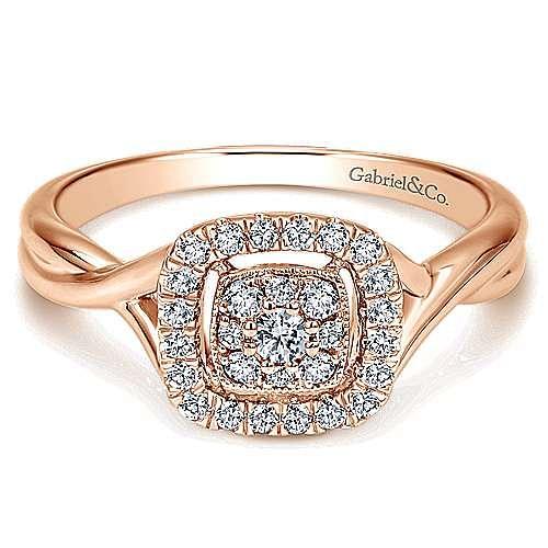 Gabriel - 14k Rose Gold Lusso Fashion Ladies' Ring
