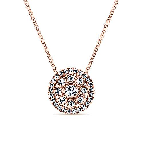 14k Rose Gold Lusso Fashion Necklace