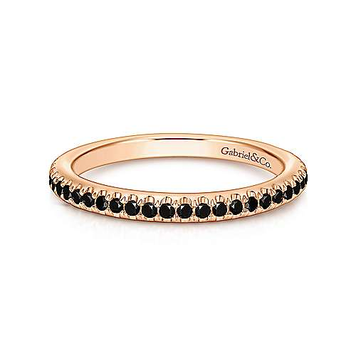 14k Rose Gold Stackable Ladies Ring Lr4885k4jbd Gabriel Co