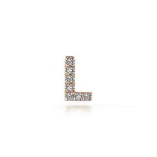 14k Rose Gold Treasure Chests Locket Charm Pendant angle 1