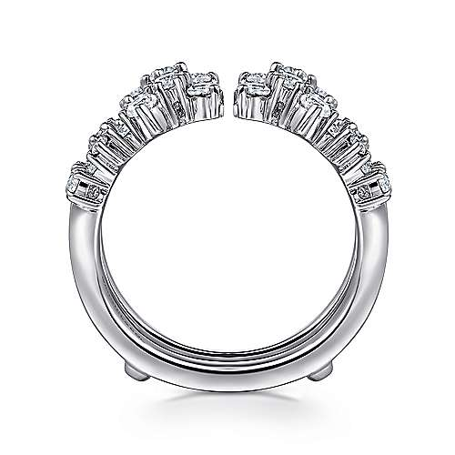14k White Gold Diamond Enhancer