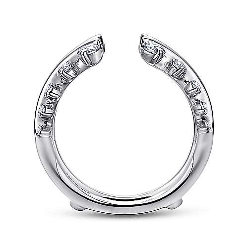 14k White Gold Enhancer