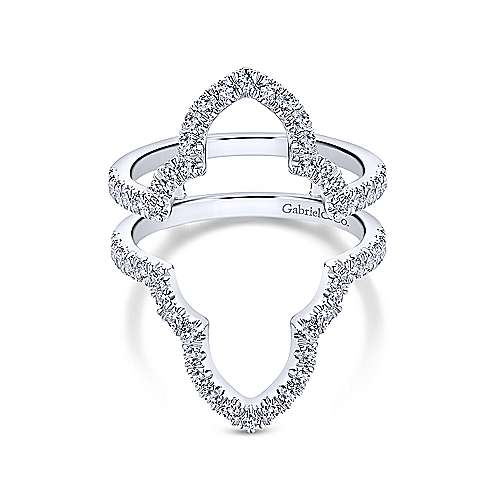 Gabriel - 14k White Gold Enhancer