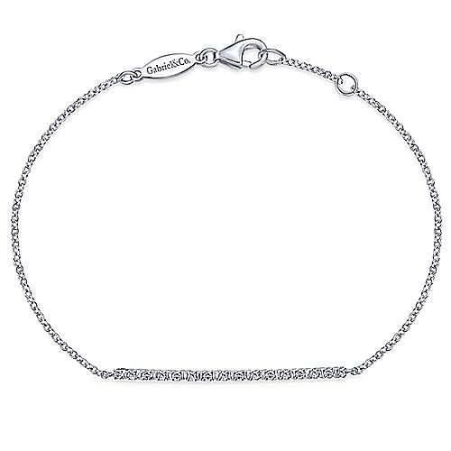 Gabriel - 14k White Gold Lusso Chain Bracelet