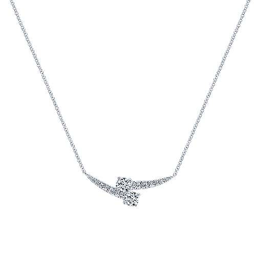 Gabriel - 14k White Gold Lusso Classic Necklace