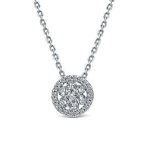 Gabriel - 14k White Gold Lusso Fashion Necklace
