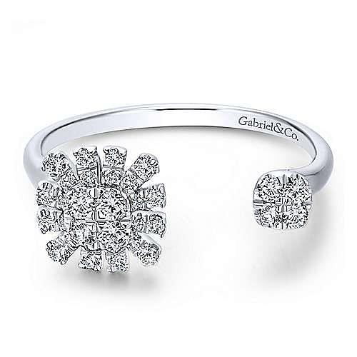 14k White Gold Starlis Fashion Ladies' Ring angle 1