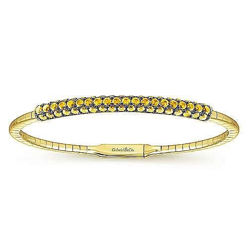 Gabriel - 14k Yellow Gold Bangle