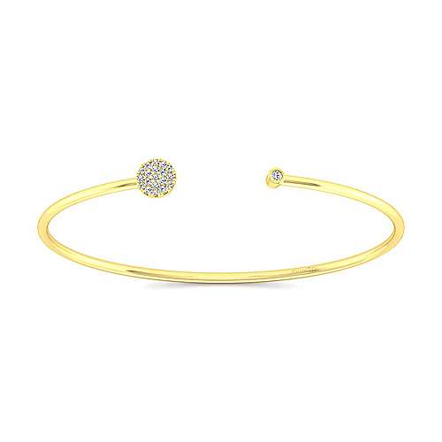 14k Yellow Gold Byblos Bangle