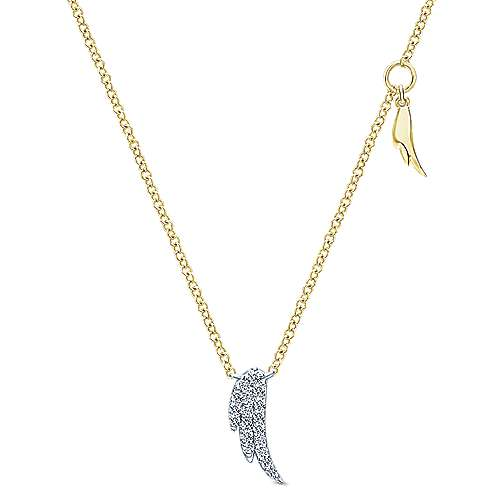 Gabriel - 14k Yellow Gold Contemporary Fashion Necklace