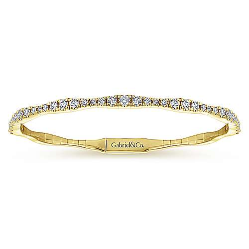 Gabriel - 14k Yellow Gold Demure Bangles Bangle