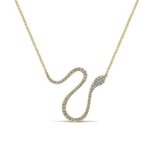 Gabriel - 14k Yellow Gold Indulgence Fashion Necklace