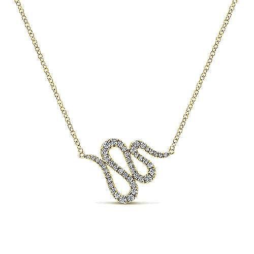 Gabriel - 14k Yellow Gold Indulgence Fashion Necklace