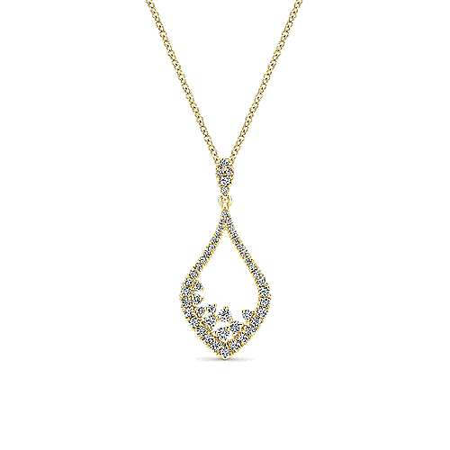Gabriel - 14k Yellow Gold Lusso Fashion Necklace