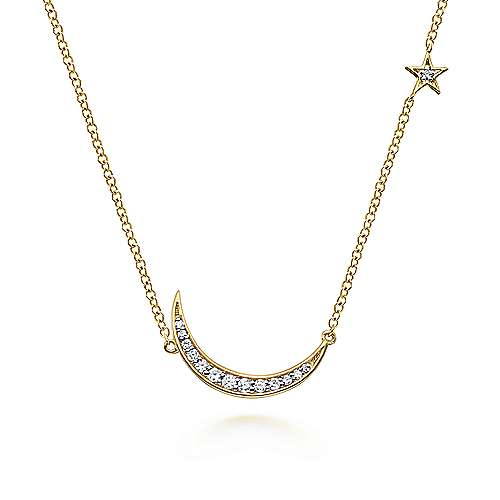 Gabriel - 14k Yellow Gold Trends Fashion Necklace