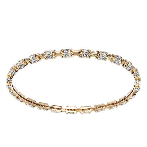 14k Yellow Gold Victorian Bangle