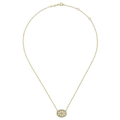 14k Yellow Gold Victorian Fashion Necklace angle 2