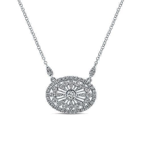 Gabriel - 18K White Gold  Fashion Necklace