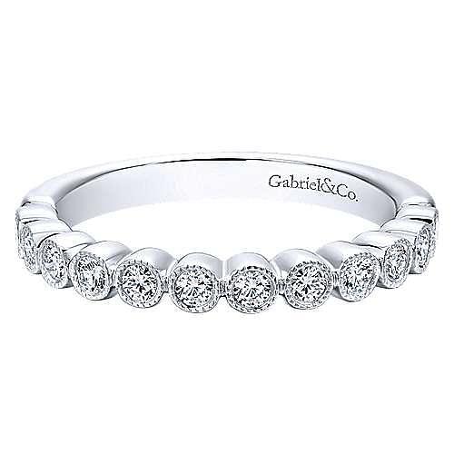 Gabriel - 18K White Gold Matching Wedding Band
