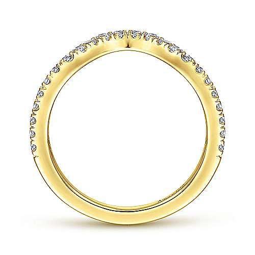 18K Yellow Gold Matching Wedding Band