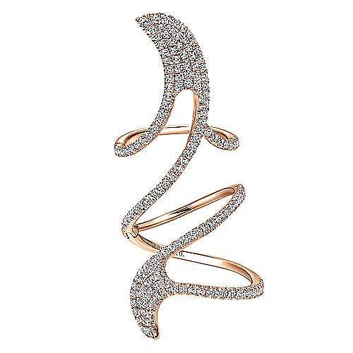 Gabriel - 18k Rose Gold Amavida Fashion Statement Ladies' Ring