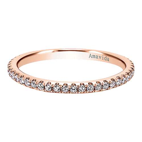 Gabriel - 18k Rose Gold Wedding Band