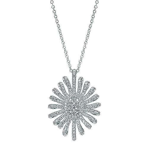 Gabriel - 18k White Gold Allure Fashion Necklace