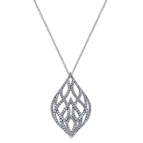 Gabriel - 18k White Gold Amavida Fashion Fashion Necklace