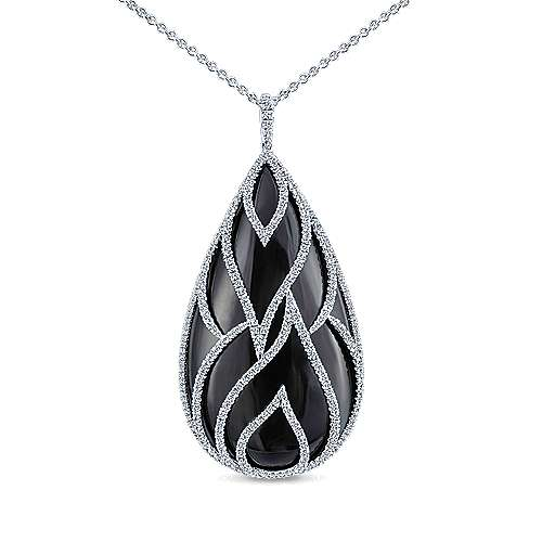 18k White Gold Amavida Fashion Fashion Necklace angle 1