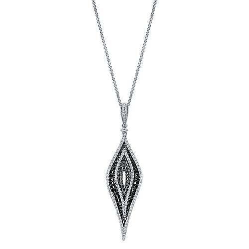 18k White Gold Kaslique Fashion Necklace angle 1