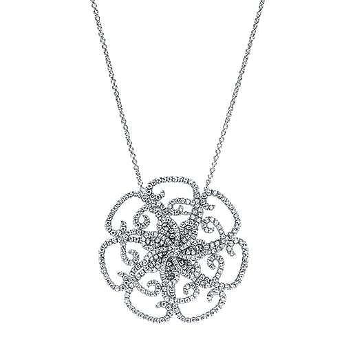 Gabriel - 18k White Gold Lusso Fashion Necklace